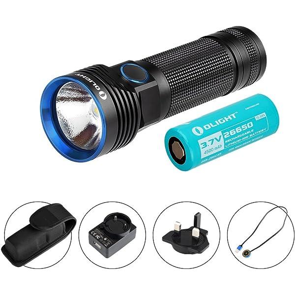 1 Stück Taschenlampe Mini LED USB wiederaufladbar wasserdicht stilvoll