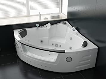 whirlpool vasca da bagno luxus 140 x 140 cm vasca idromassaggio jacuzzi