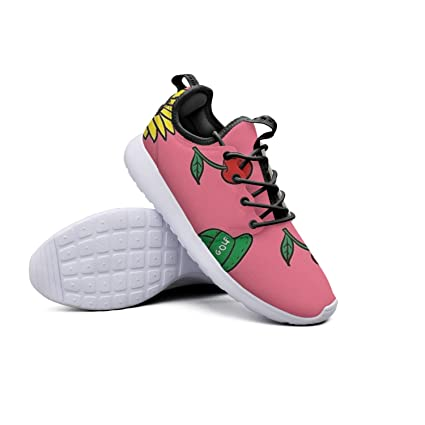 a146f25009e39 Amazon.com: YYuuijk Cherry Bomb Art Printing Women's Gym Shoes ...