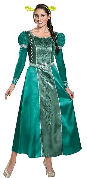 Amazon.com: UHC Princess Fiona Shrek Deluxe Outfit Womens Fancy ...