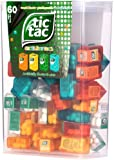 TIC TAC Box with 60 Mini Boxes (Mint, Orange, Spearmint, Peach and Passion fruit)