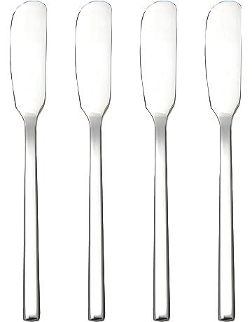 IMEEA mantequilla cuchillo de untar con 16,5 cm de acero inoxidable para helado tarta