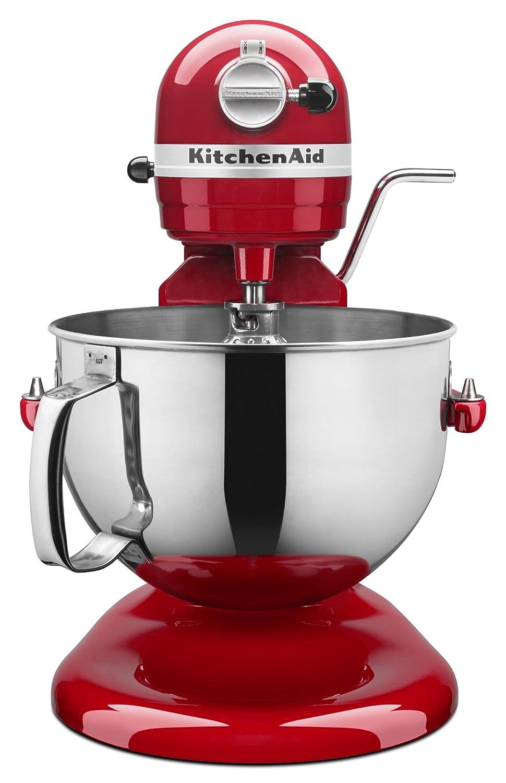 Black KitchenAid 6-quart Professional Bowl-lift Stand Mixer