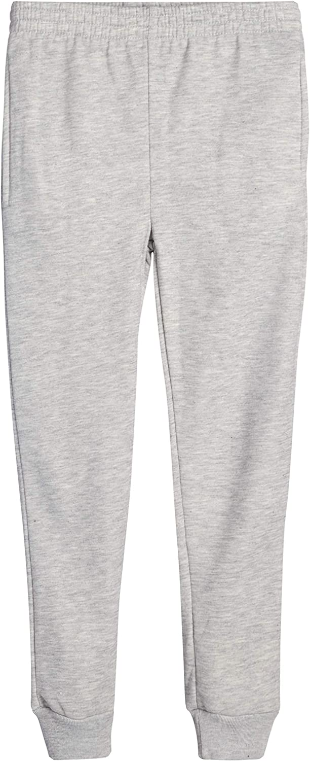 Real Love Girls/' Fleece Jogger Pants with Pockets and Printed Sayings 2 Pack