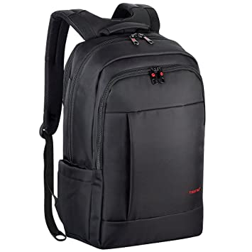 dbbdbab32c NORSENS Lightweight Laptop Backpacks 15.6 Mens Slim Business laptop Backpack  for Notebook Computer in Black  Amazon.co.uk  Computers   Accessories