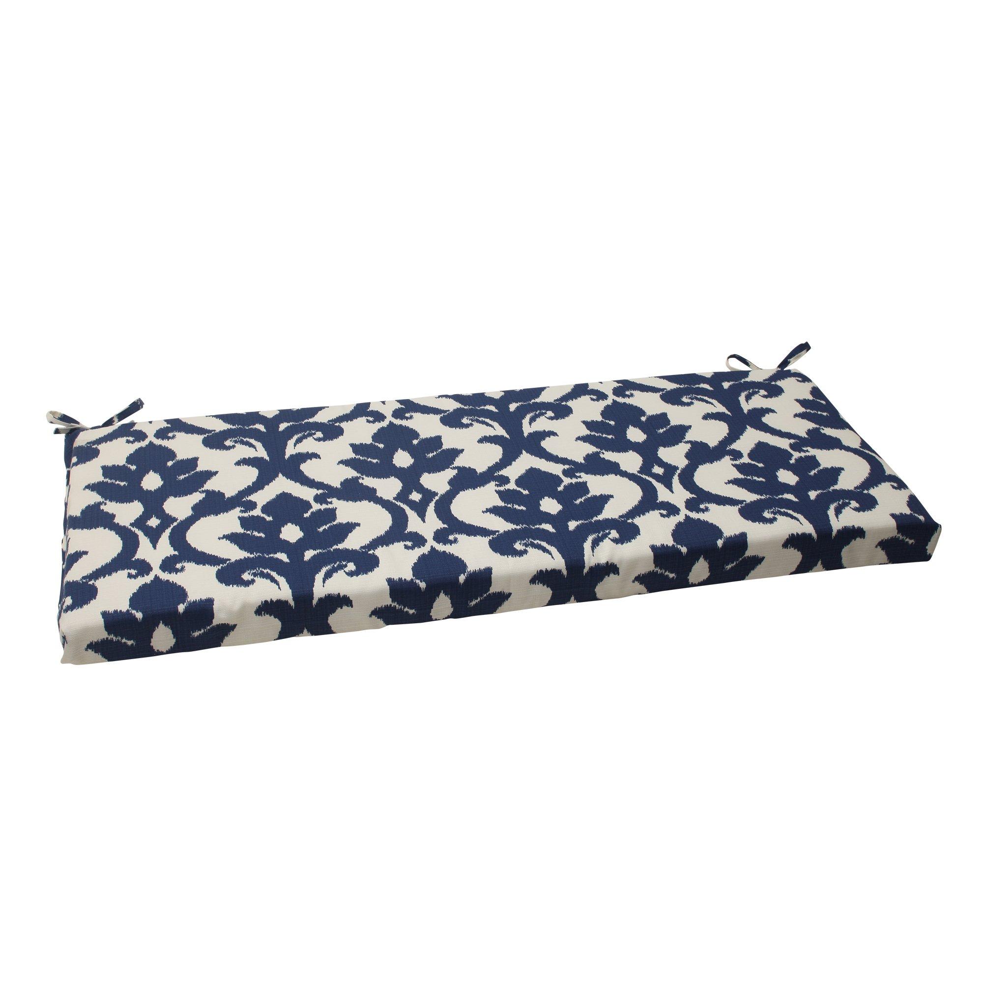 Pillow Perfect Indoor/Outdoor Bosco Bench Cushion Navy