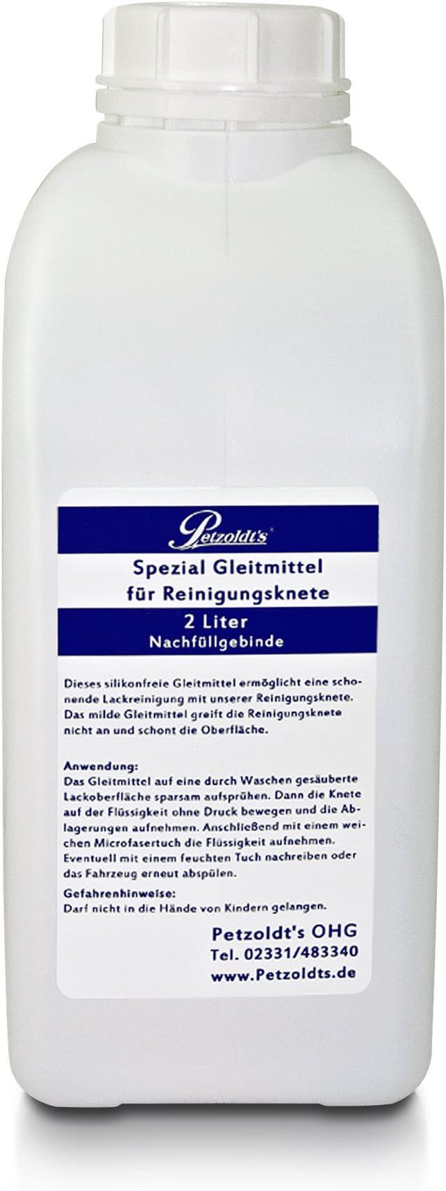 2 Liter Gleitmittel Für Petzoldts Reinigungsknete Zur Sicheren Anwendung Auto