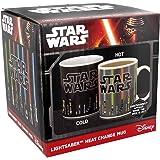 "Star Wars Sabre laser """" La chaleur Changement Mug dans un emballage 2016"