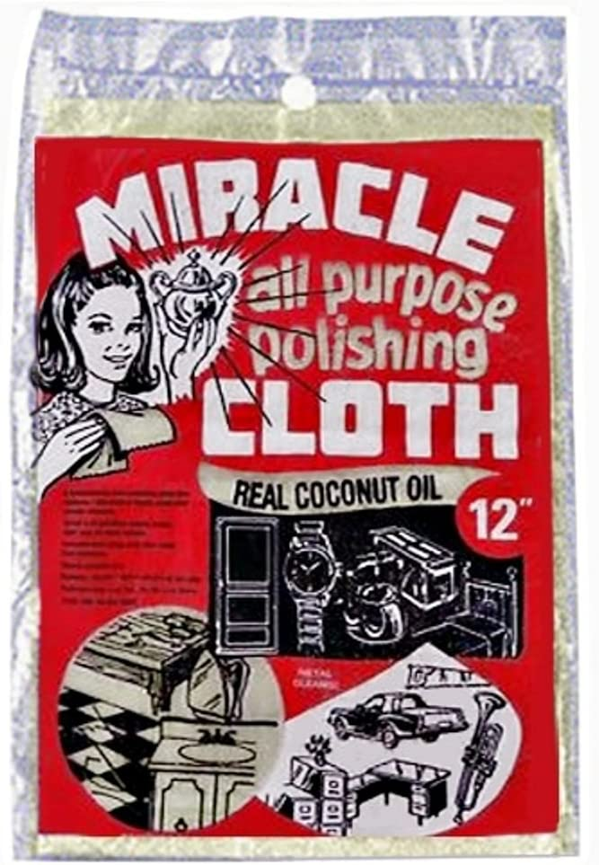 Miracle All Purpose Polishing Cloth 9 x 12 (Pack of 3)