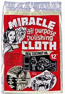 Miracle All Purpose Polishing Cloth 9 x 12 (Pack of 2)