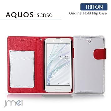 bab1775b96 AQUOS sense ケース SH-01K SHV40 手帳型 アクオスフォン センス カバー ブランド 手帳 閉じ