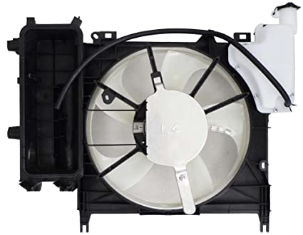 Depo 312-55069-000 Radiator/Air Conditioner Fan Assembly (SCION I-Q 12