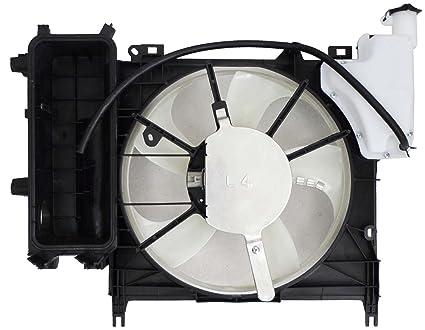 Depo 312-55069-000 Radiator/Air Conditioner Fan Assembly (SCION I-Q 12