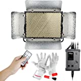 Aputure Light Storm LS 1s 1536 SMD Led CRI95 Daylight Led Light Panel with V-Mount Battery Plate and 2.4G Wireless Remote Controller - Ultra Bright 30300lux@0.5m, Almost Equal to A 1000W Tungsten