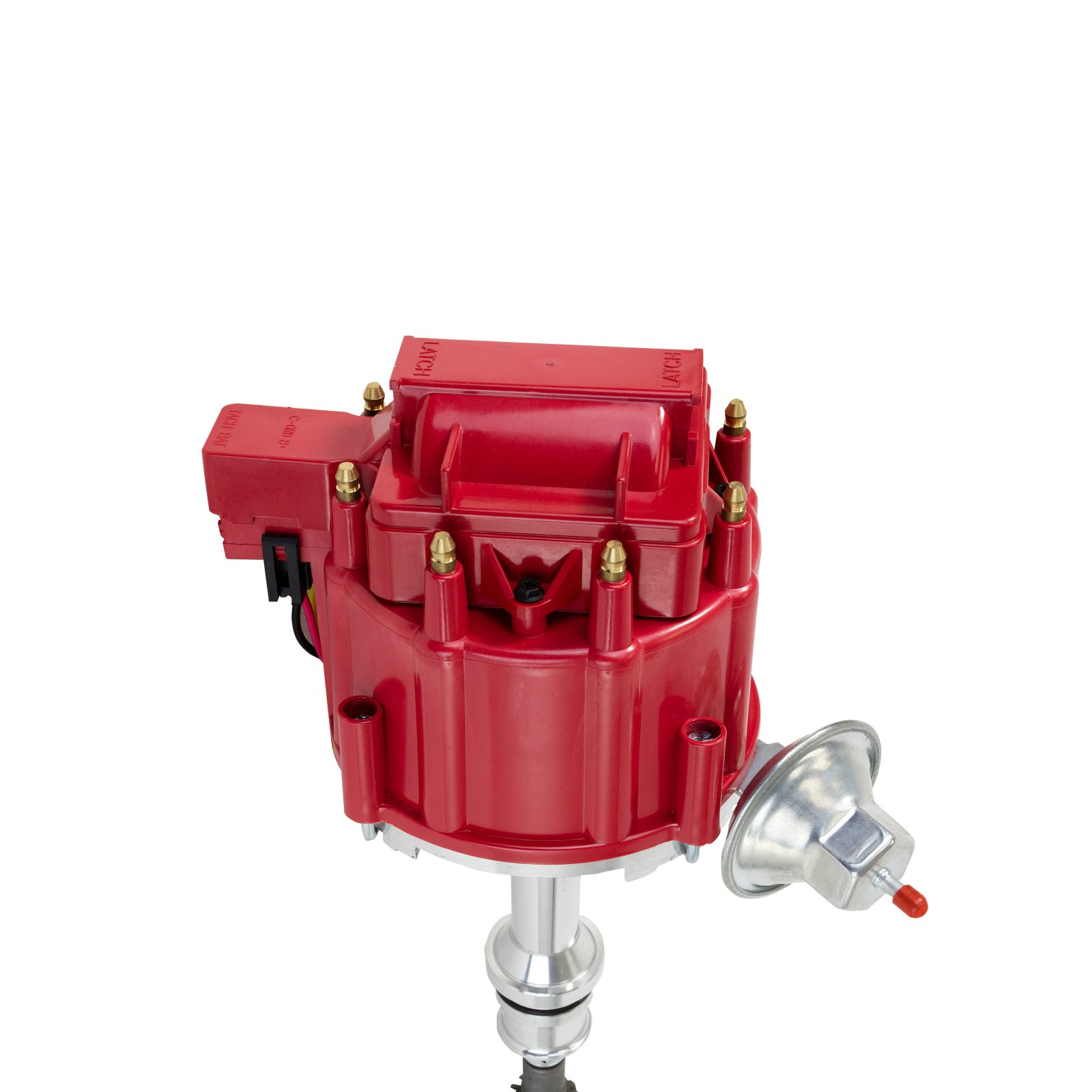Top Street Performance Jm6502r Ford Small Block 221 302 Hei Chevy Distributor Coil Cap With Red Oem 65k Volt Distributors Parts Automotive