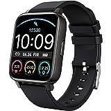 "Rinsmola Smart Watch 2021 Watches for Men Women, Fitness Tracker 1.69"" Touch Screen Smartwatch Fitness Watch, Sleep/Heart Rat"