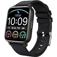 "Smart Watch 2021 Ver. Watches for Men Women, Fitness Tracker 1.69"" Touch Screen Smartwatch Fitness Watch Heart Rate…"