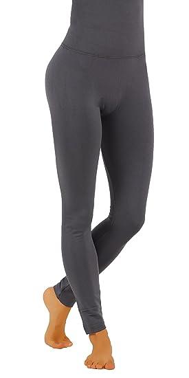 d08af72f8d87f Pro Fit High Waist Tummy Control Thick Fleece Yoga Leggings (S/M USA 2