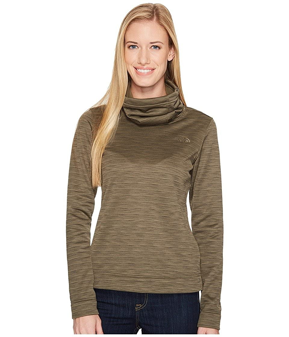 f238616ce The North Face Novelty Glacier Pullover New Taupe Green Stria ...