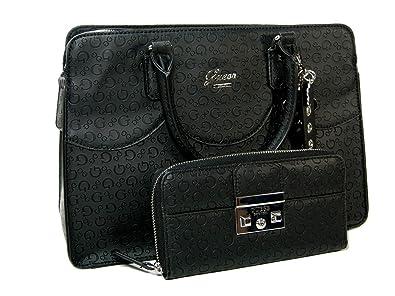 795a40d44d New Guess G Logo Purse Satchel Crossbody Hand Bag   Wallet Set 2 ...
