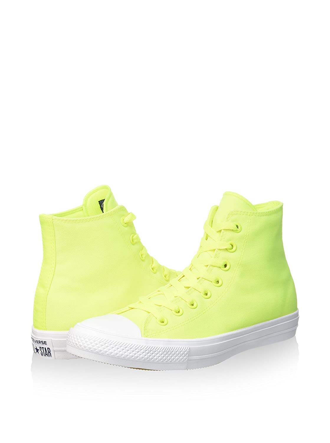 6b14baad4835 Converse Chuck Taylor All Star II Chaussures de Basketball Mixte Adulte,  Vert (Volt Green/White/Neon) 45 EU: Amazon.fr: Chaussures et Sacs