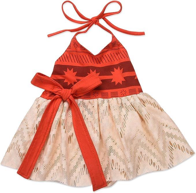 Jurebecia Moana Chicas Disfraz Vestido Ropa Niña Vestidos de ...