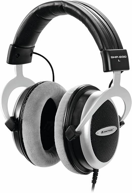 Set de 2 x Auriculares semiabiertos Hi Fi stereo ATOME, dinámicos, negro - Pack de auriculares / Set de cascos semiabiertos - showking: Amazon.es: Hogar