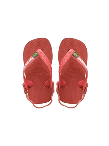 f3ad1f12820b Havaianas Women s Thong Sandals Red Ruby Red  Amazon.co.uk  Shoes   Bags