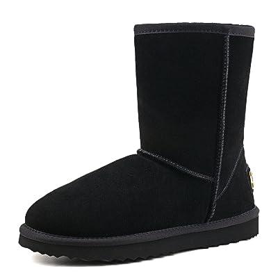 AUSLAND Men's Water Resistant Mid-Calf Snow Boots | Boots
