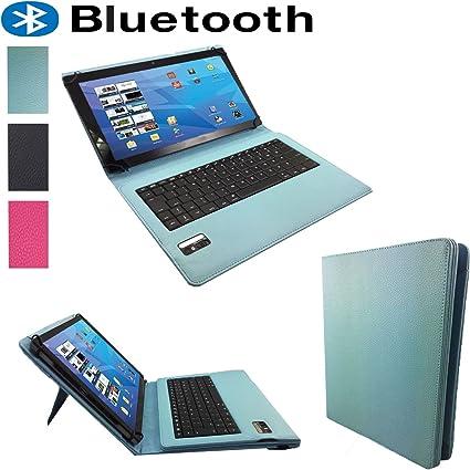 10.1 (QWERTY teclado Bluetooth Funda/Libro Funda para TECLAST ...