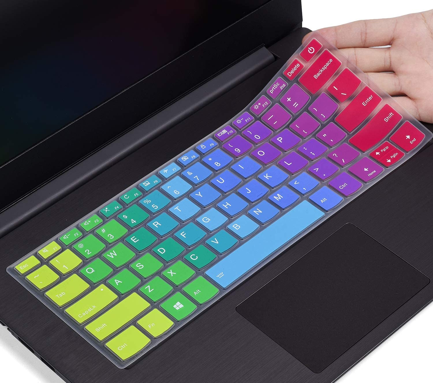 Colorful Keyboard Cover Compatible with Lenovo Ideapad S130 320S 330 330S S340 530S 14