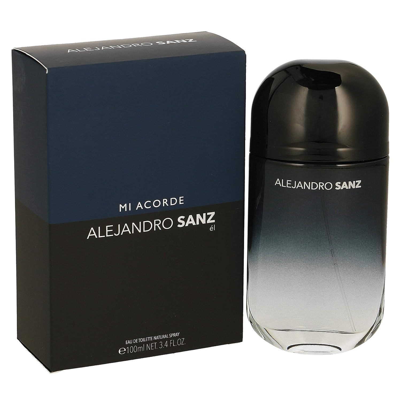 ALEJANDRO SANZ colonia mi acorde spray 100 ml: Amazon.es