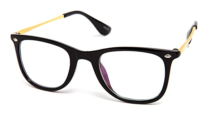 4eda9793c54 Image Unavailable. Image not available for. Colour  Thewhoop Full Rim  Wayfarer Unisex Spectacle ...