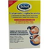 Scholl Linea Trattamento Unghia Incarnita Kit Completo Clip e Spray