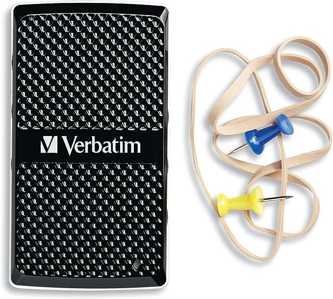 Verbatim 47681 - Disco Duro sólido Interno de 256 GB, USB 3.0 ...