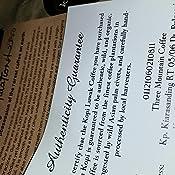 Kopi Luwak - Granos de café árabe: Amazon.com: Grocery ...