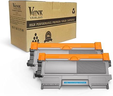 V4INK TN450 Cartucho tóner compatible con Brother HL-2240, HL ...