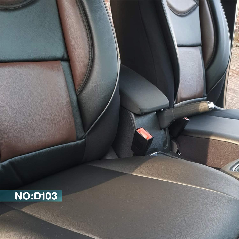 Maß Sitzbezüge Kompatibel Mit Nissan Navara Iii D40 3 Gen Fahrer Beifahrer Ab 2005 2015 Fb D103 Baby
