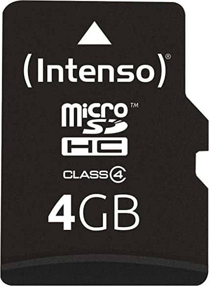 Samsung SDHC 4GB Class 4 Memory Card