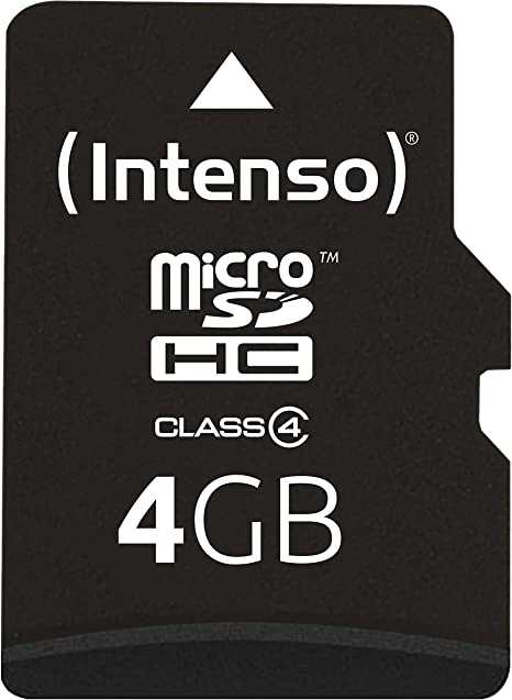Intenso Micro Sdhc 4gb Class 4 Speicherkarte Inkl Computer Zubehör