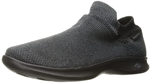Skechers Go Step Lite-Ultrasock, Zapatillas Altas para Mujer, Negro (Black), 37 EU
