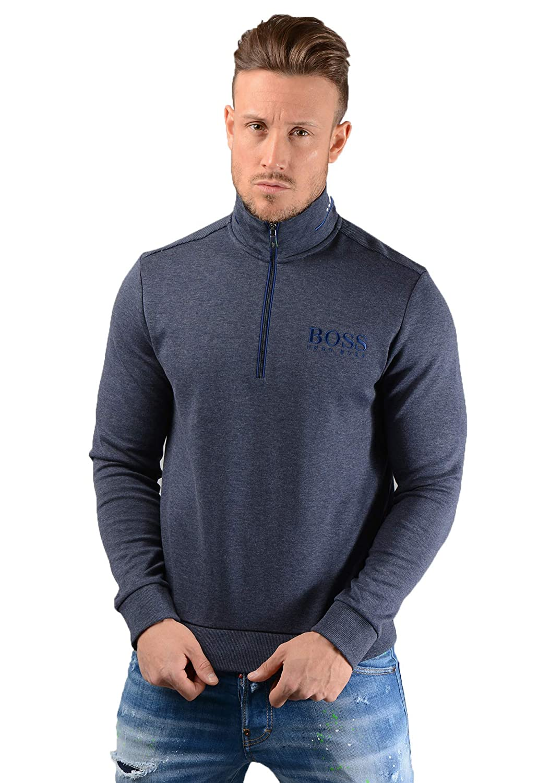 BOSS Herren 1 4 Reißverschluss Sweatshirt