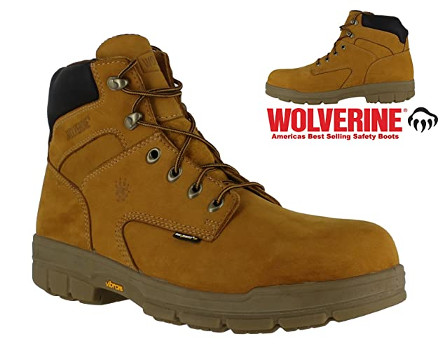 fae41f009e0bdb New Mens Wolverine Turner S3 Safety Steel Toe Midsole Work 6