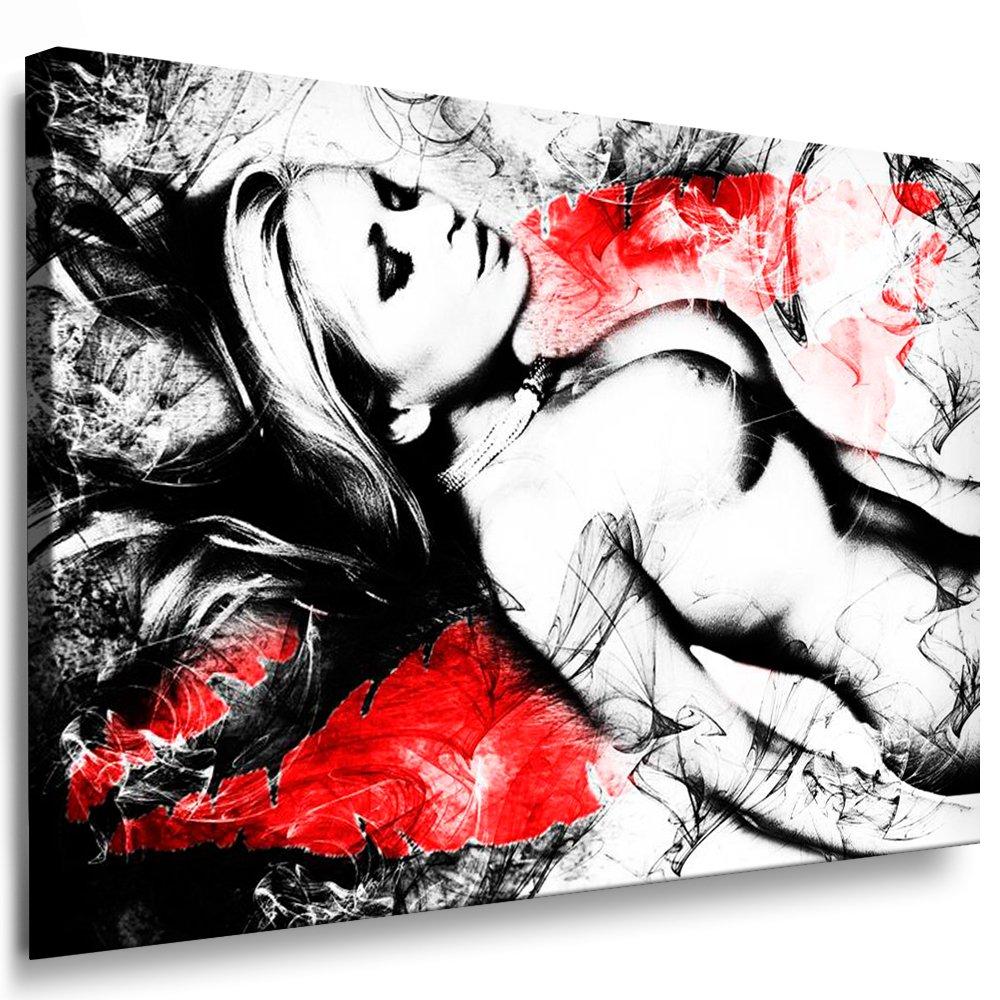 Bilder Kunstdrucke   Boikal   Leinwand Bild mit Keilrahmen Akt Sexy Girl 100x70 cm xxl.539
