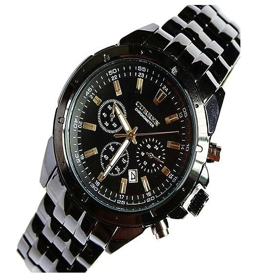 Para hombre relojes para hombre Curren Fashion primera marca barato Diseño trasero de acero inoxidable reloj