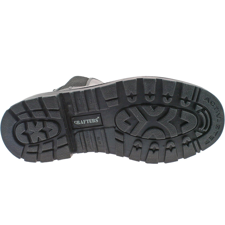 Grafters - Calzado de protección para hombre, color negro, talla 49