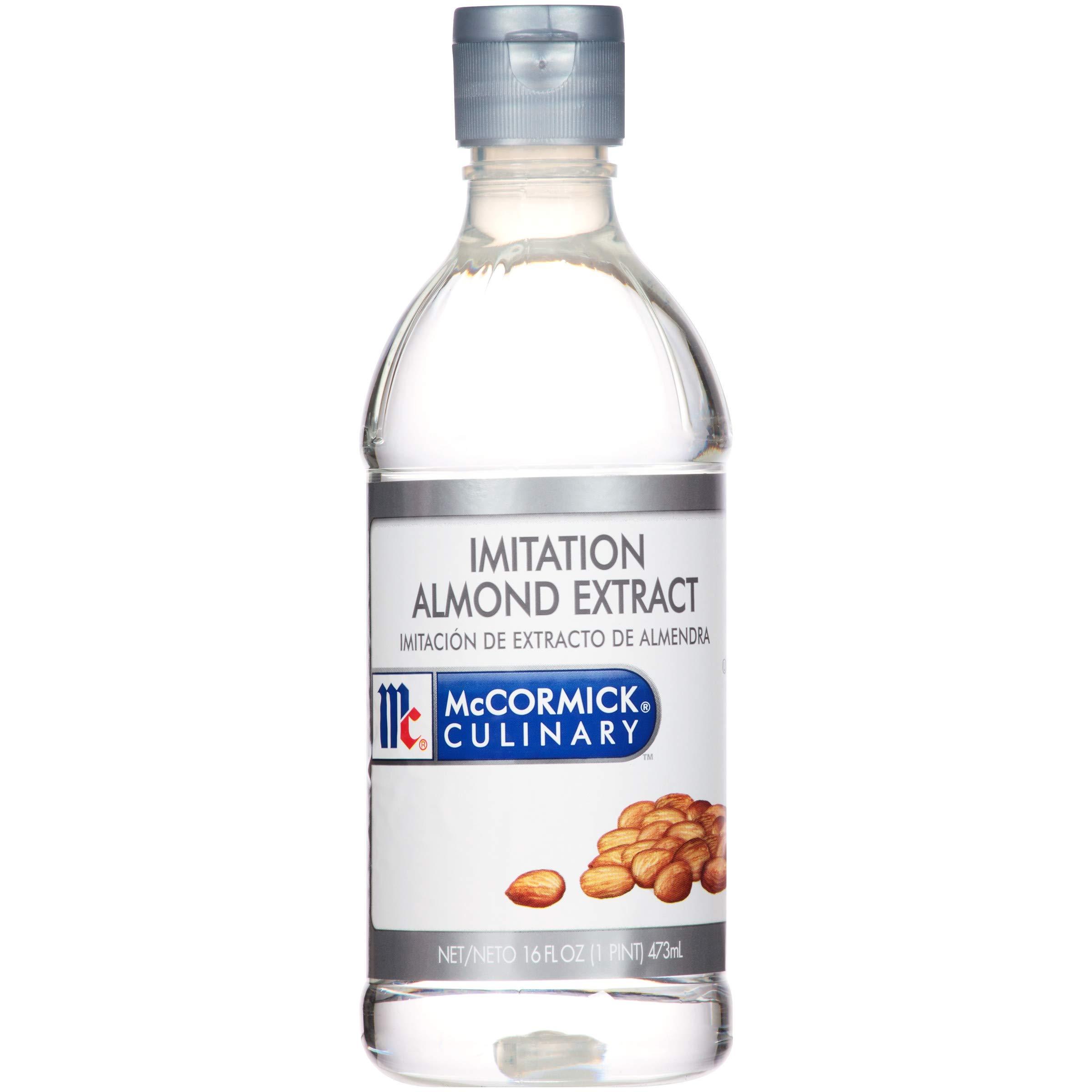 McCormick Culinary Imitation Almond Extract, 16 fl oz
