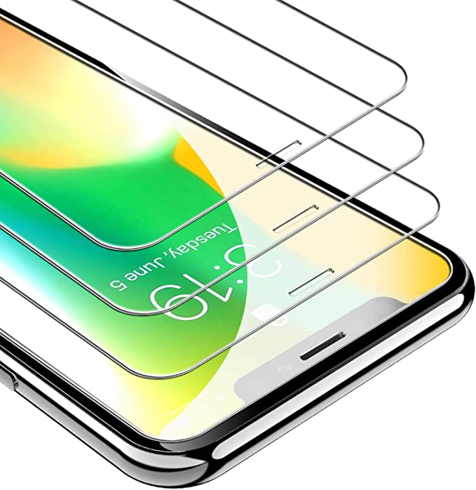 Unbreakcable Screen Protector For Iphone 11 Pro X Xs 3 Pack 9h Hardness Tempered Glass For Iphone 11 Pro Xs X Case Friendly Satterproof