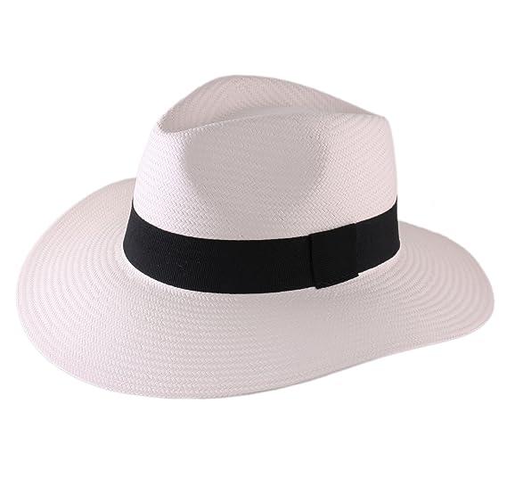 98e889a12783e Classic Italy Panama Hat Men Classic Panasoft Traveller  Amazon.co.uk   Clothing