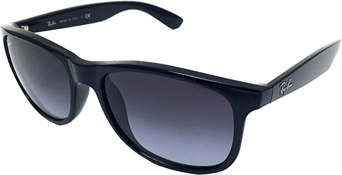 New Ray Ban Andy RB4202 6018G BlackGrey Gradient 55mm